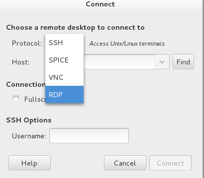 Linux How to connect to Windows with remote desktop RDP in